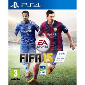 10€ offerts sur les jeux FIFA 15 - Ex: Version PS4