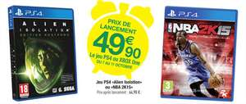 Alien Isolation sur PS4