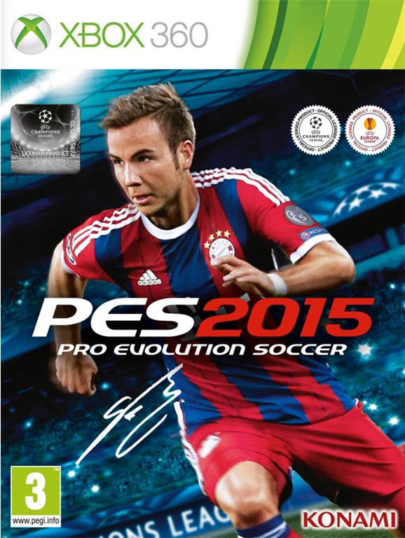 Précommande : PES 2015 sur PS3 et XBOX360