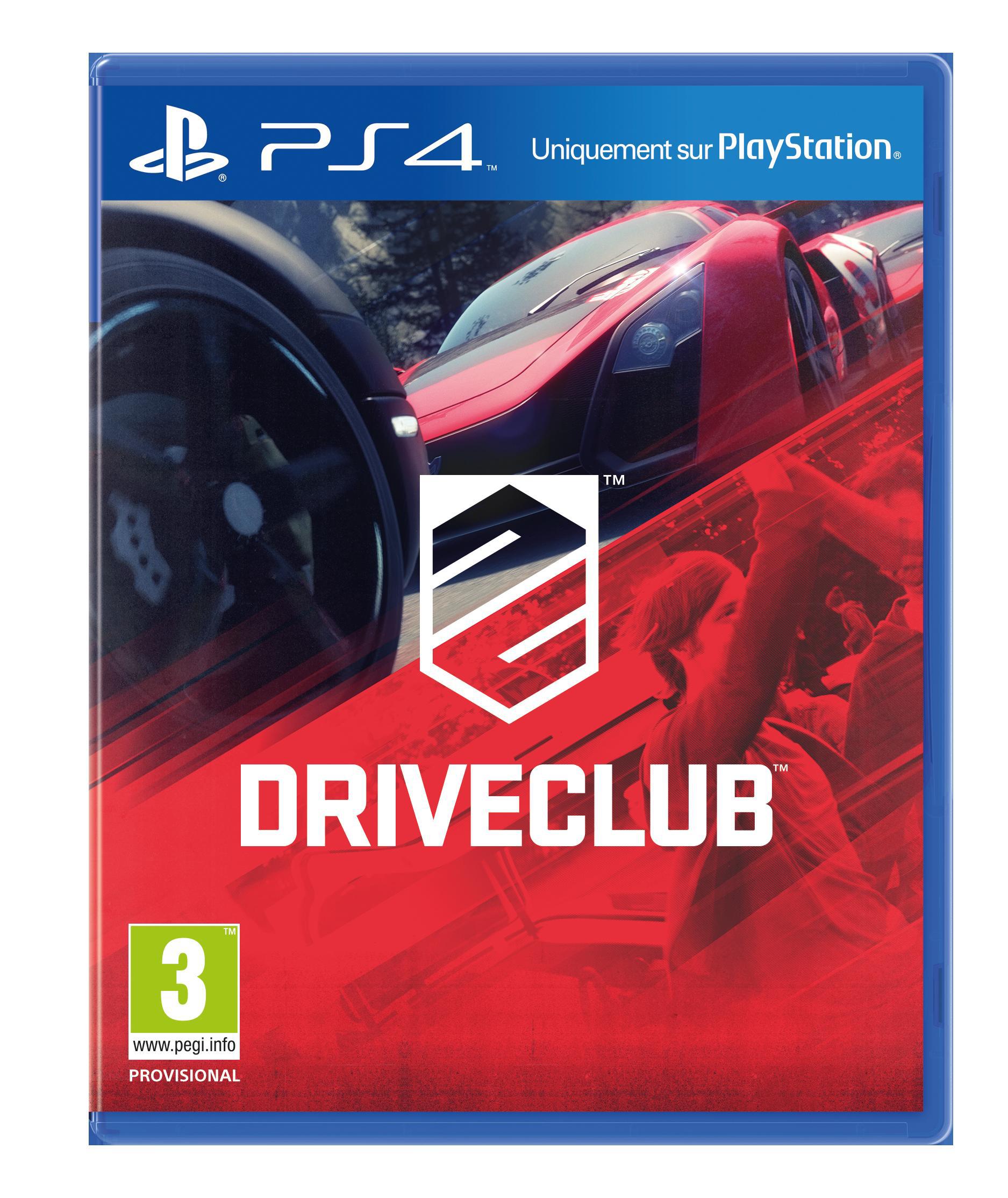 DriveClub sur PS4 (Dématérialisé)