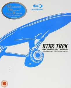 Coffret Blu ray Star Trek: Stardate Collection - The Movies 1 à 10