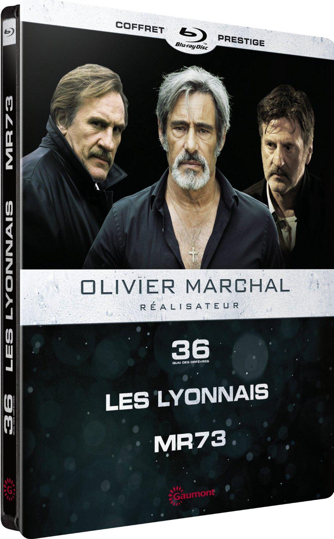 Coffret Blu-Ray Olivier Marchal : 36 Quai des Orfèvres + Les Lyonnais + MR 73