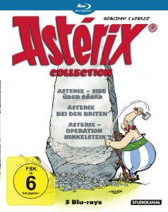 Coffret 3 Blu-Rays Astérix - La Trilogie Gaumont