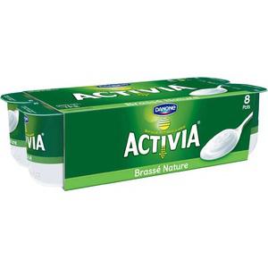 Yaourts Danone Activia nature 8 x 125 g