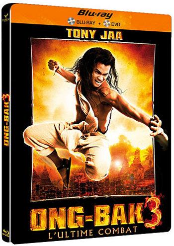 Ong Bak 3 en Blu-Ray + DVD