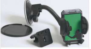 Support fixation GPS/Smartphone Ventouse
