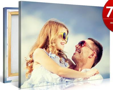 Impression sur toile format 20X20 cm / livraison gratuite