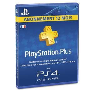 Abonnement PlayStation Plus 365 jours