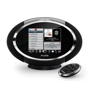 Radio FM PURE Sensia compatible RNT et Webradio avec écran tactile