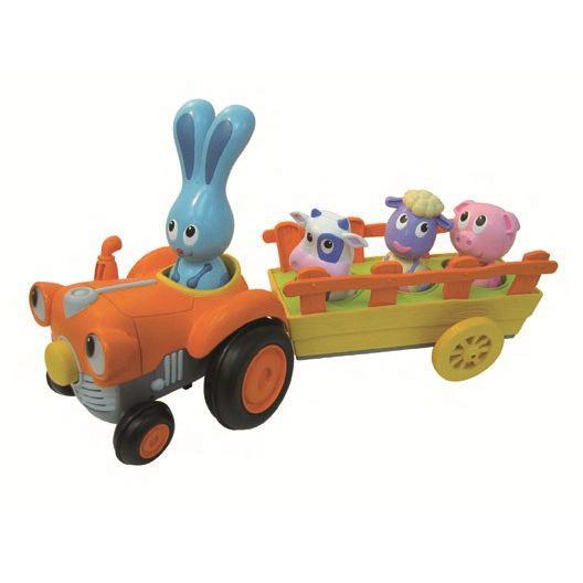 Tracteur électronique Jojo et ses amis