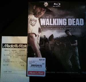 the Walking Dead en Blu-ray saison 1 à 3