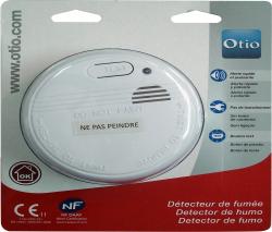Détecteur avertisseur autonome de fumée NF de Otio