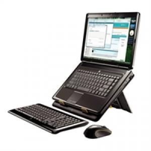 Pack Logitech MK605 : Clavier + Souris sans fil + Support pour ordinateur portable
