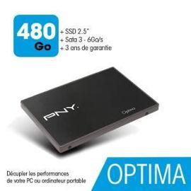 """Disque SSD 2.5"""" PNY Optima 480 Go"""