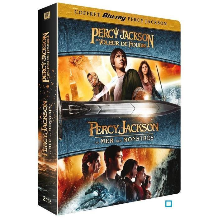 Coffret Blu-Ray Percy Jackson Le Voleur de Foudre + Percy Jackson 2: La Mer des Monstres