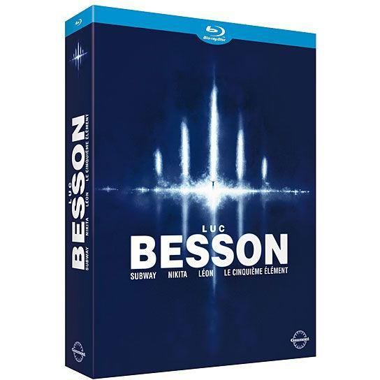Coffret Blu-Ray Luc Besson : Subway + Nikita + Léon + Le Cinquième Elément