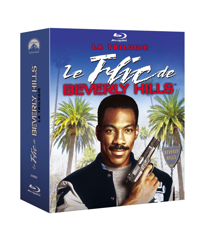 Coffret Blu-Ray Trilogie Le flic de Bervely Hills