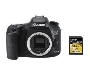 Précommande : [Adhérent] Appareil photo reflex Canon 7D mark II + Carte SDHC Lexar 32 Go (+ bon d'achat 179€)