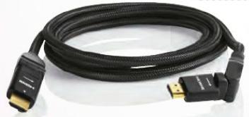Cable HDMI avec tête pivotante 180°