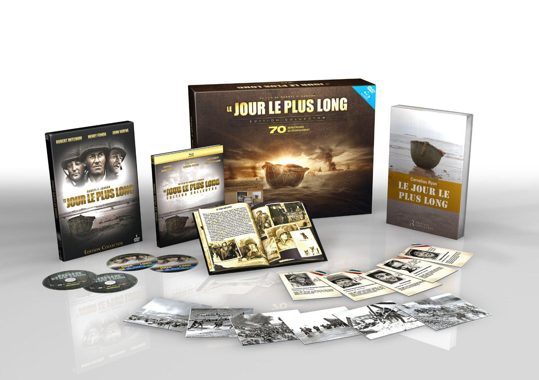 Coffret DVD/Blu-ray Le Jour le plus long [Édition Collector 70ème Anniversaire]