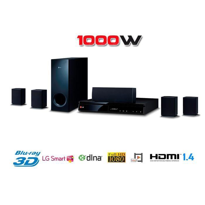 Home Cinéma 5.1 LG BH6240S - Blu-Ray 1000W