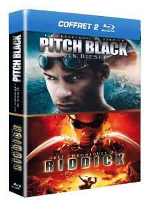 Coffret Blu-ray Riddick : Pitch Black + Les chroniques de Riddick