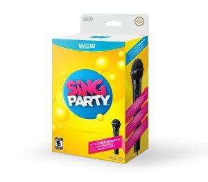 Jeu Nintendo Wii U Sing Party + Microphone Wii U