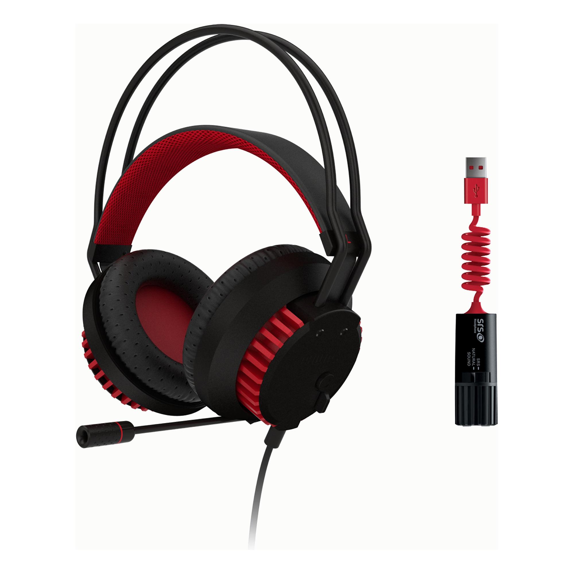 Casque Audio Micro Philips SHG8200 pour Joueurs PC (USB)