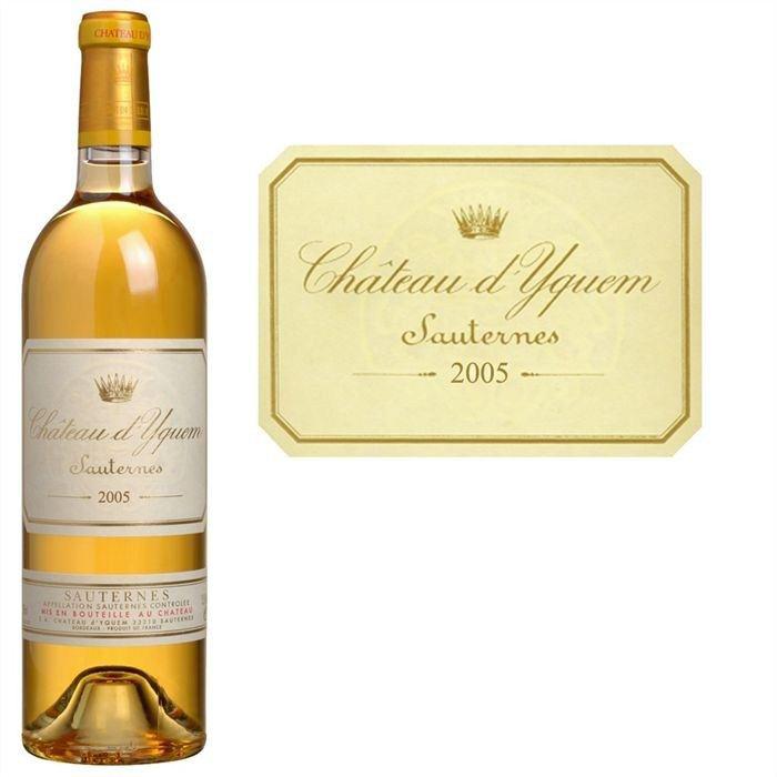 Vin Blanc Château d'Yquem 2005 75CL