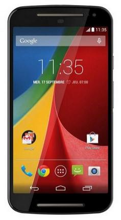 Smartphone Moto G 2nd génération - 8 Go - noir - dual SIM (avec ODR 30€)