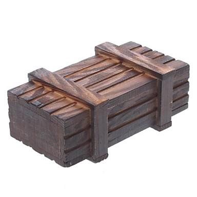 Coffre trésor magique en bois