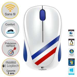 Souris sans fil optique Logitech M235 France ou USA