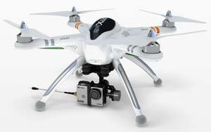 Quadricoptère Walkera QR X350 FPV1 Pro (avec radio DEVOF7 + support Brushless Gimbal G-2D + camera iLook)