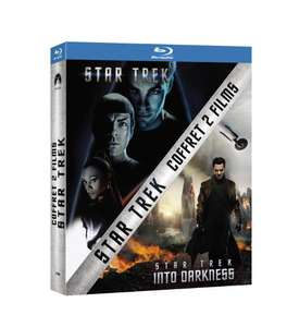 Coffret 2 Blu Ray Star Trek + Star Trek Into Darkness