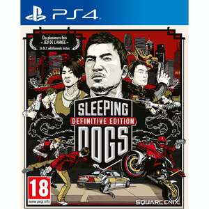 Jeu Sleeping Dogs Definitive Edition PS4 ou Xbox One
