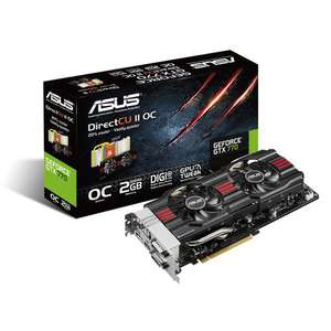 Carte graphique Asus GTX 770 DirectCU II 2 Go + jeu PC Borderlands The Pre-Sequel offert