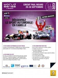 Places gratuites pour les World Series by Renault au circuit Paul Ricard