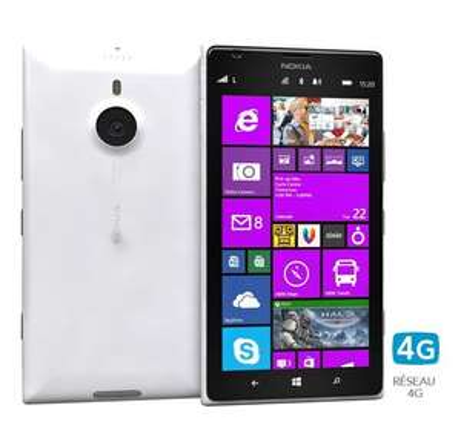 Smartphone Nokia Lumia 1520 blanc