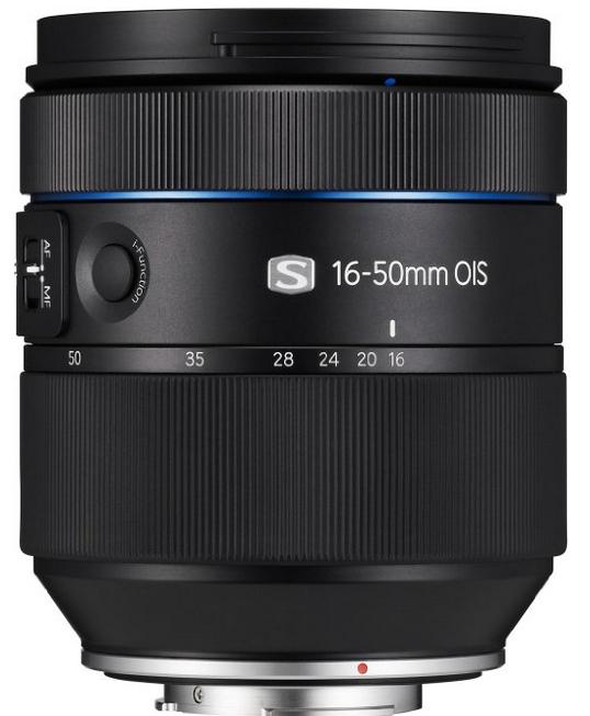Objectif Samsung EX-S1650ASB