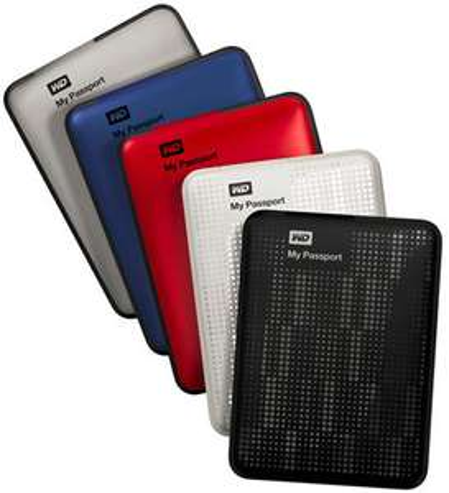 Disque dur externe 2.5'' WD My Passport Ultra 1To USB 3.0 (plusieurs couleurs)