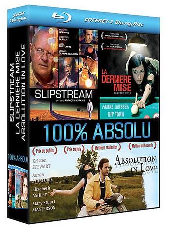 Coffret Blu-ray 100% Absolu : Slipstream + La dernière mise + Absolution in Love