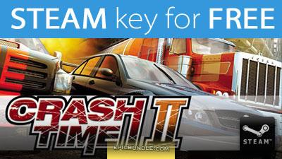 Clef gratuite pour le jeu Crash Time II sur PC (Steam)