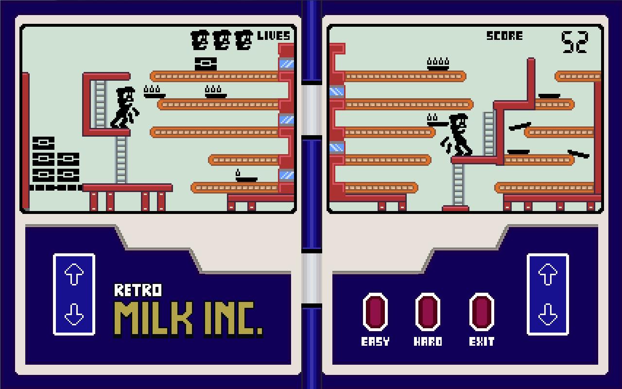 Retro Milk Inc. (Game & Watch Like) gratuit sur Android (Au lieu de 0.5€)