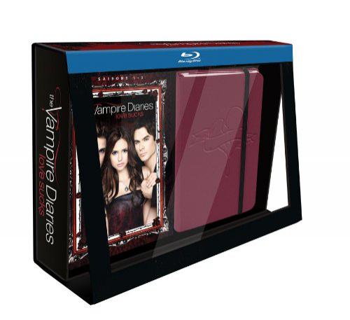 Coffret Blu-Ray Vampire Diaries Saisons 1 à 3 [Édition Limitée]