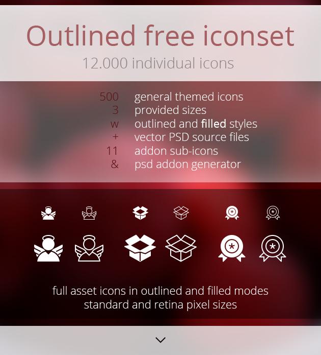 Pack de 12 000 icônes gratuites