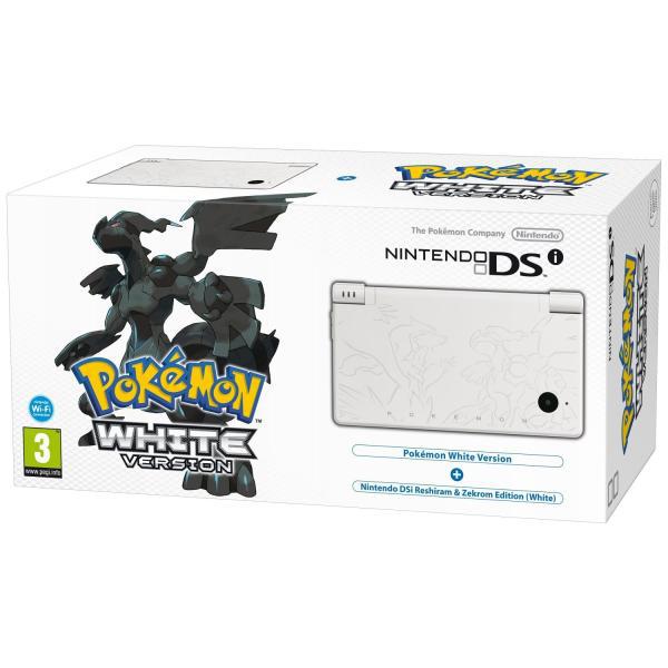 "Console Nintendo DSi ""Pokemon White"""