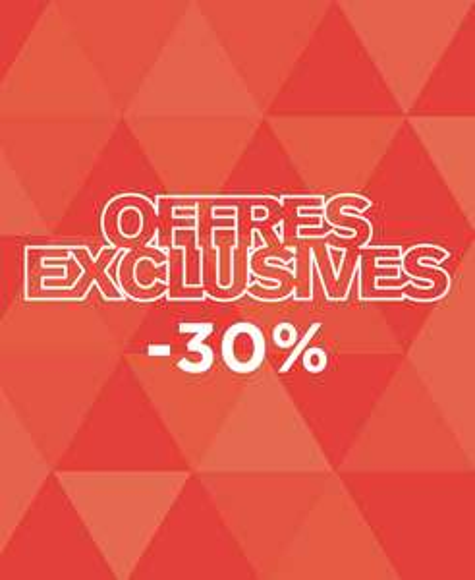 -30% sur une sélection de vêtements