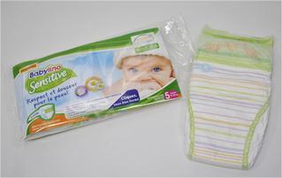 1 couche bébé Babylino Sensitive gratuite