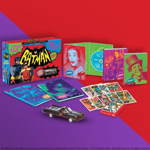 Coffret Blu-ray Batman Année 60 - Edition limitée