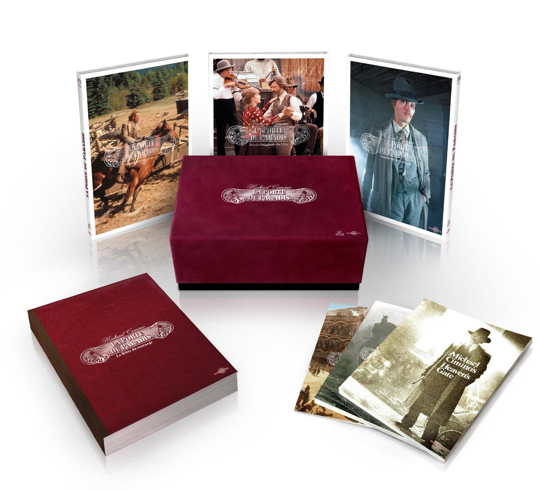Coffret La Porte du paradis - Édition Prestige limitée et numérotée (1 CD + 2 DVD + 2 Blu-Ray)